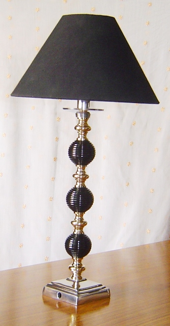 Rastogi handicrafts exclusive range of handicrafts from jaipur india bal 002 brass aluminium lamp with cloth shade wire fitting greentooth Gallery