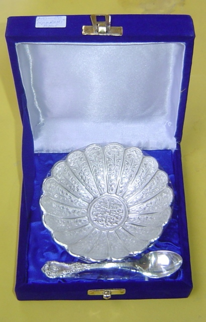 BC 007 Silver plated Bowl