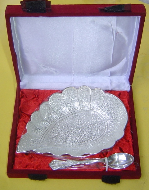 BC 008 Silver plated Bowl